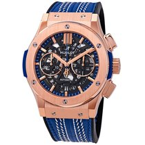 Hublot Classic Fusion Aerofusion Rose gold 45mm Transparent United States of America, New York, Brooklyn
