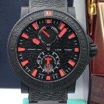 Ulysse Nardin Diver Black Sea Steel 45.8mm Black No numerals