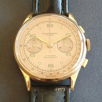 Chronographe Suisse Cie Yellow gold 38mm Manual winding pre-owned