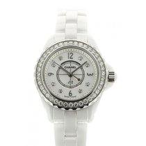 Chanel J12 Steel 29mm Mother of pearl