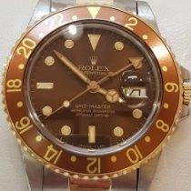 Rolex GMT-Master Золото/Cталь 40mm Бронзовый Без цифр