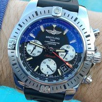 Breitling Chronomat 41 Сталь 41mm Чёрный Без цифр
