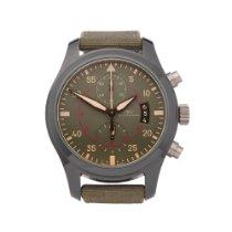 IWC Pilot Chronograph Top Gun Miramar pre-owned 46mm Grey Chronograph