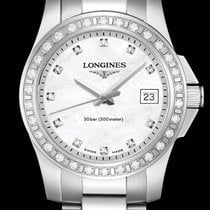 Longines Conquest Quartz Diamonds Mother of Pearl Dial 29,5mm R