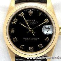 Rolex Oyster DateJust medio 31mm 68278 quadrante nero full set