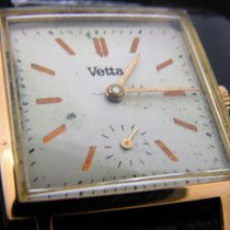 Wyler Vetta Geelgoud 27mm Handopwind tweedehands