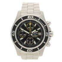 Breitling SuperOcean A13341 - Gents Watch - Black Dial - 2012