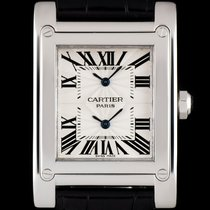 Cartier Tank (submodel) pre-owned 28mm White gold