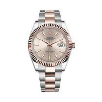 Rolex Datejust 41 Steel & 18k Rose Gold Sundust Dial - 126331