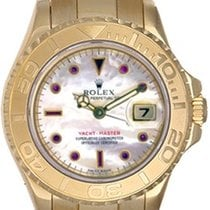 Rolex Ladies Rolex Yacht - Master 2-Tone Watch Mother of Pearl...