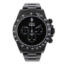 Rolex Daytona Stainless Steel Bamford Black PVD