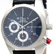 e2fdde7661c Dior Chiffre Rouge Automatic Stainless Steel Men  39 s Sports.