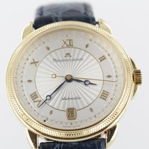 Maurice Lacroix Yellow gold Automatic White Roman numerals 37mm pre-owned