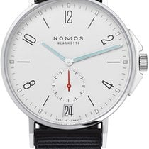 NOMOS Ahoi Datum Steel 40.3mm White United States of America, New York, Airmont