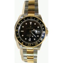 Rolex GMT Master II 16713 Steel and 18K Yellow Gold Oyster...