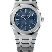 Audemars Piguet Royal Oak Jumbo Steel 39mm Blue United States of America, New York, NEW YORK