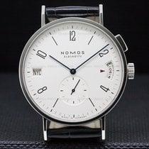 NOMOS NO635 Tangomat GMT World Time SS White Dial (29881)