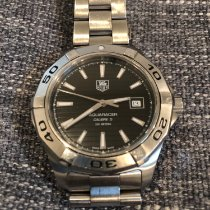 TAG Heuer Aquaracer 300M Steel 41mm Black No numerals United States of America, New York, Cornwall
