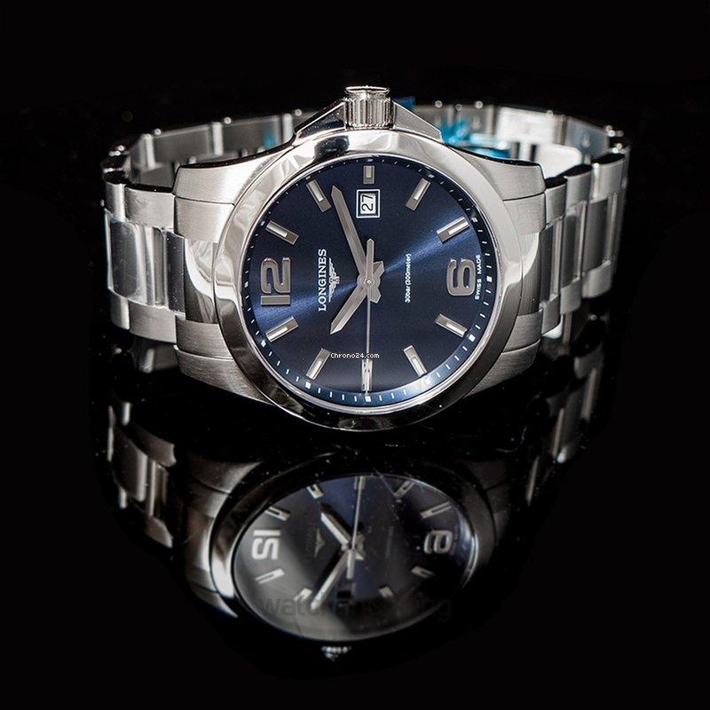 new arrival f525c 5e9a7 Longines Conquest Quartz Blue/Steel 41mm - L37594966