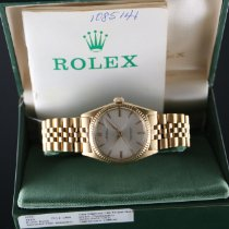 Rolex Oyster Perpetual (Submodel) pre-owned 36mm Yellow gold