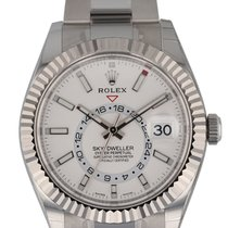 Rolex Sky-Dweller pre-owned 42mm Steel
