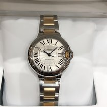 Cartier new Automatic 33mm Steel Sapphire Glass