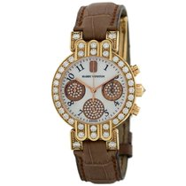 Harry Winston Rose gold Automatic White 32mm pre-owned Premier