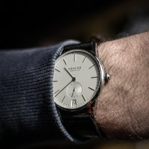 NOMOS Steel Manual winding White 38mm pre-owned Orion Datum