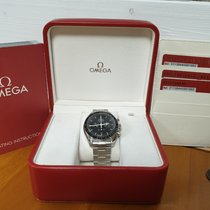 Omega Speedmaster Professional Moonwatch Acero Negro Sin cifras