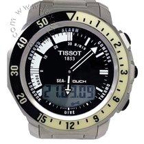 Tissot Sea-Touch Zeljezo 42mm Crn Bez brojeva