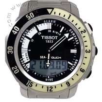 Tissot Sea-Touch Acero 42mm Negro Sin cifras