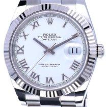 Rolex Datejust II Steel 41mm White Roman numerals