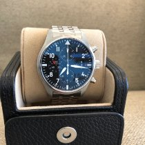 IWC Pilot Chronograph Steel 43mm Black Arabic numerals United States of America, Florida, Miami