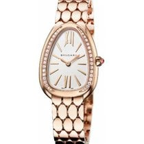 Bulgari Serpenti Rose gold 33mm Silver