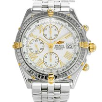 Breitling Crosswind Racing pre-owned 43mm White Chronograph Date Steel