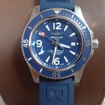 Breitling Superocean 44 Acier 44mm Bleu Arabes France, Tournefeuille