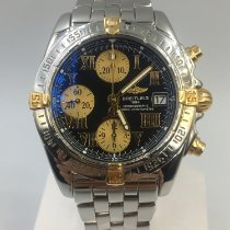 Breitling Chrono Cockpit B13358 Very good Gold/Steel 39mm Automatic