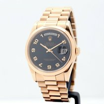 Rolex Day-Date 36 Rose gold 36mm Black No numerals United Kingdom, Oxford
