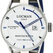 Locman Staal 44mm Automatisch 051100WHFBL0GOB nieuw