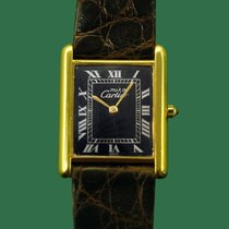 Cartier Tank Vermeil Silver 23.4mm White United States of America, California, Los Angeles