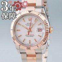 Rolex 116261 Gold/Stahl Datejust Turn-O-Graph 37mm gebraucht