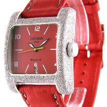 Locman Sport Quadrato Aluminum 36.5mm Red United States of America, Florida, Miami