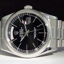 Rolex Day Date, Ref. 118206-schwarz Index ZB/Oysterband