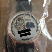 Zenith El Primero Chronomaster nuevo Automático Cronógrafo Reloj con estuche y documentos originales 18.2040.4061/69.C494