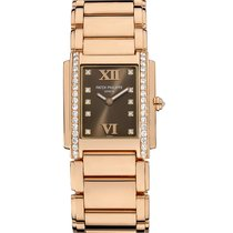 Patek Philippe TWENTY-4 Medium Rose Gold with Diamonds Watch...