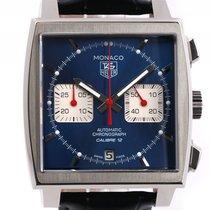 TAG Heuer Monaco Steve McQueen Calibre 12 Chronograph Stahl...