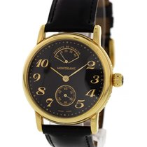 Montblanc Meisterstuck Power Reserve Gold Tone SS 7003