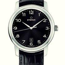 Eterna Soleure Black Elegante Automatik Herren Armbanduhr Neu OVP