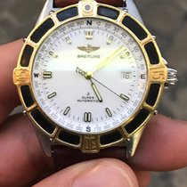 Breitling J class automatico automatic pro gold steel 40 mm