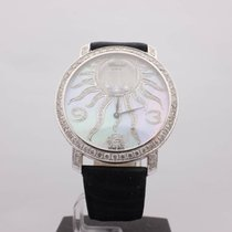Chopard Happy Sun 18kt White Gold Diamonds MOP 40MM